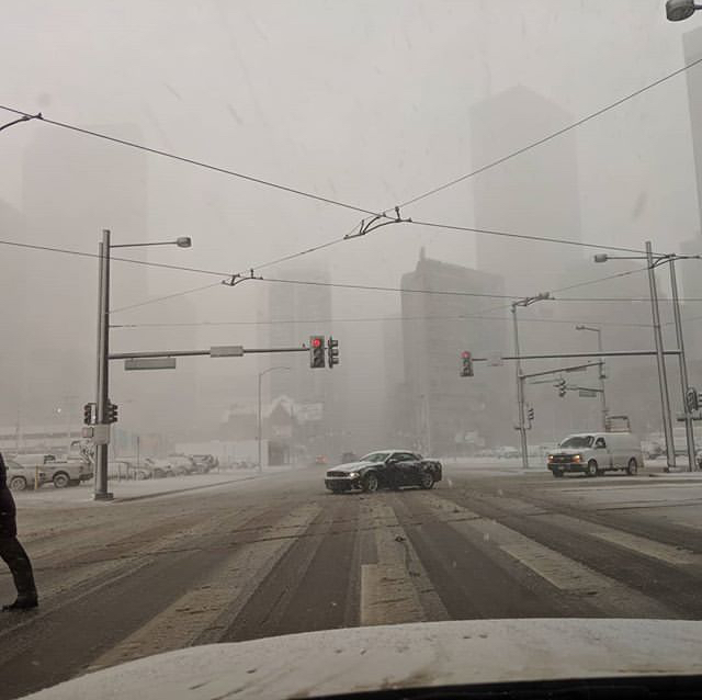 Denver Blizzard: Colorado Blizzard Hits Hard With Heavy Wind Gusts At 80mph